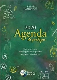 Téléchargement de livres en ligne Agenda de pratique  - 365 jours pour développer ses capacités créatives et magiques (Litterature Francaise) par Lisbeth Nemandi