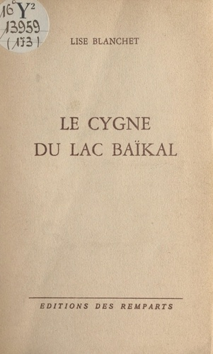 Le cygne du lac Baïkal