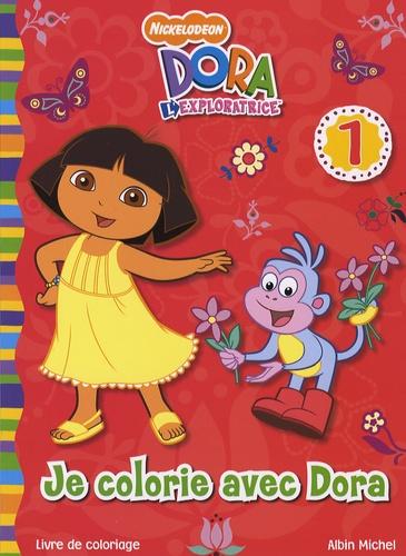 Lise Boëll et Marie-Céline Moulhiac - Je colorie avec Dora - Tome 1.