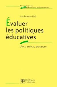 Deedr.fr Evaluer les politiques éducatives. Sens, enjeux, pratiques Image