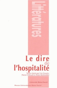Lise Gauvin et Pierre L'Hérault - Le dire de l'hospitalité.