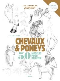 Lise Herzog - Chevaux et poneys - 50 modèles pour débuter.