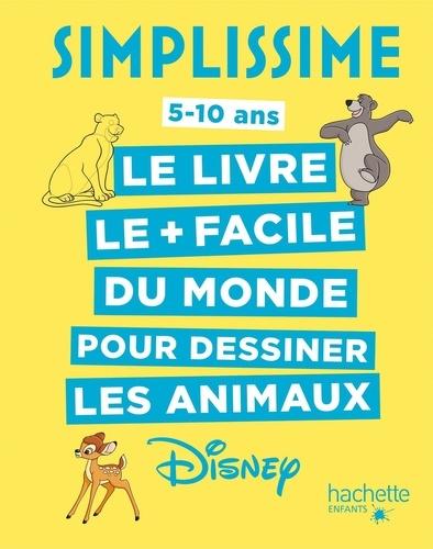Le Livre Le Facile Du Monde Pour Dessiner Les Animaux Disney Grand Format