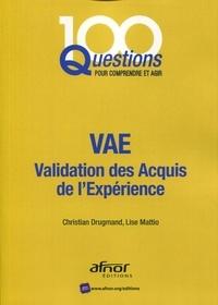 Lise Mattio et Christian Drugmand - VAE - Validation des acquis de l'expérience.