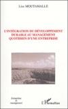 Lise Moutamalle - L'intégration du développement durable au management quotidien d'une entreprise.