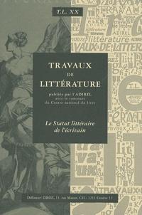 Lise Sabourin - Le Statut littéraire de l'écrivain.