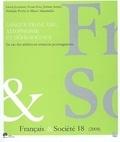 Lissia Jeurissen et Sonia Gsir - Français & Société N° 18 : Langue française, allophone et défis sociaux - Le cas des adultes en situation postmigratoire.