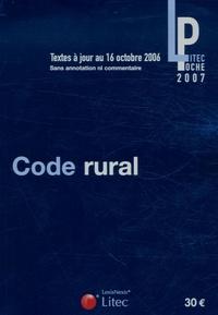 Litec - Code rural.