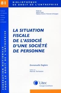 Litec - La situation fiscale de l'associé d'une société de personnes.