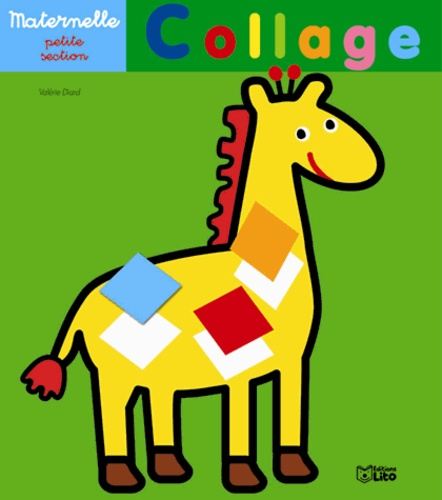 Collage girafe. Maternelle petite section