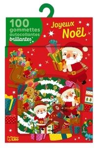 Charlie Pop - Joyeux Noël - 100 gommettes autocollantes brillantes.