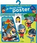 Dania Florino - L'attaque du château fort - Avec 1 poster.