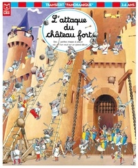 Coloriage Attaque Chateau Fort.L Attaque Du Chateau Fort Des Petites Images A Placer Ou L On Veut Sur Un Grand Decor