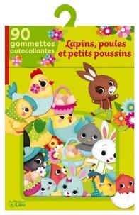 Lapins, poules et petits poussins - 90 gommettes autocollantes.pdf