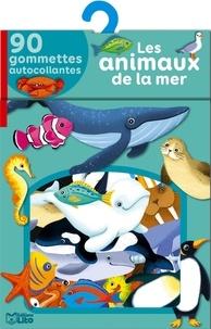 Daniela Dogliani - Les animaux de la mer - 90 gommettes autocollantes.