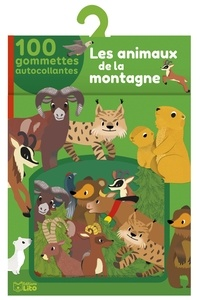 Charlie Pop - Les animaux de la montagne - 100 gommettes autocollantes.