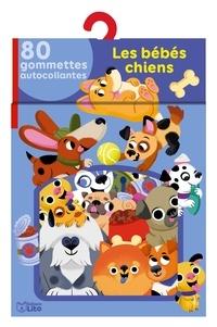 Betowers - Les bébés chiens - 80 gommettes autocollantes.