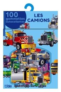 Rozenn Follio-Vrel - Les camions - 100 gommettes autocollantes.