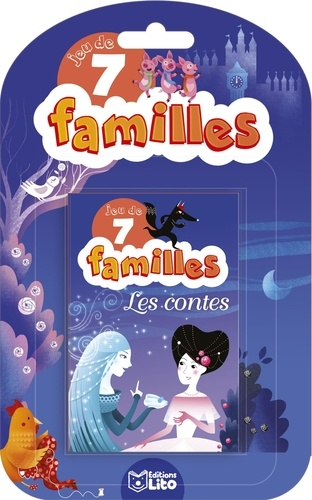 Leïla Brient - Les contes - Jeu de 7 familles.