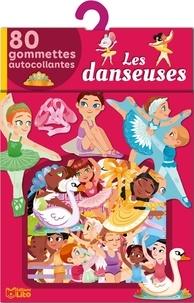 Marine Cazaux - Les danseuses - 80 gommettes autocollantes.