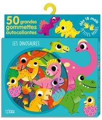 Sonia Baretti - Les dinosaures - 50 grandes gommettes autocollantes.