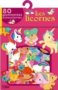 Elen Lescoat - Les licornes - 80 gommettes autocollantes.