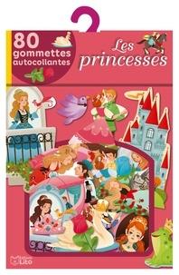 Gaia Bordicchia - Les princesses - 80 gommettes autocollantes.