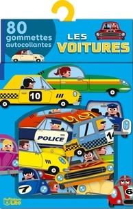 Marc Clemens - Les voitures - 80 gommettes autocollantes.