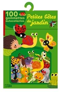 Charlie Pop - Petites bêtes du jardin - 100 gommettes autocollantes.