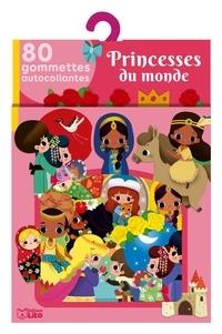 Paku - Princesses du monde - 80 gommettes autocollantes.