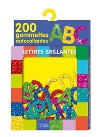 Lito - Lettres brillantes - 200 gommettes autocollantes ABC.