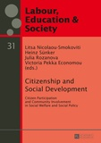 Litsa Nicolaou-smokoviti et Heinz Sünker - Citizenship and Social Development - Citizen Participation and Community Involvement in Social Welfare and Social Policy.