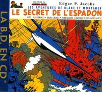 Edgar Pierre Jacobs - Le Secret de l'Espadon - CD audio.