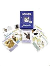 Liz Faber et Caroline Roberts - L'oracle des maîtres chats - Avec 50 cartes conseils et 1 livret pour les interpréter.