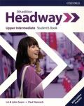 Liz Soars et John Soars - Headway Upper-intermediate - Student's book with online practice.