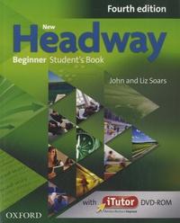 Liz Soars et John Soars - New Headway Beginner - Student's Book. 1 DVD