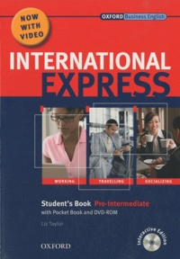 Liz Taylor - International Express Pre-Intermediate 2010 Student's pack ( student's book and DVD-ROM).
