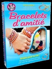 Liz Unger et Clare Mayhew - Bracelets d'amitié - Inclus 40 perles, 8 fils à broder et 1 roue à bracelet.