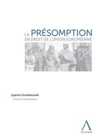 Histoiresdenlire.be La présomption en droit de l'Union européenne Image
