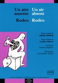 Un air absent / Rodéo - Edition bilingue français-espagnol.pdf
