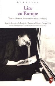 Lodovica Braida et Brigitte Ouvry-Vial - Lire en Europe - Textes, formes, lectures (XVIIIe-XXIe siècle).