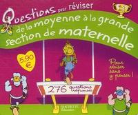 Histoiresdenlire.be Questions pour réviser de la Moyenne Section à la Grande Section de Maternelle 4/5 ans - 138 Questions-réponses Image