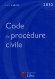 Loïc Cadiet - Code de procédure civile 2010.