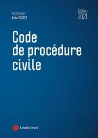 Loïc Cadiet - Code de procédure civile.
