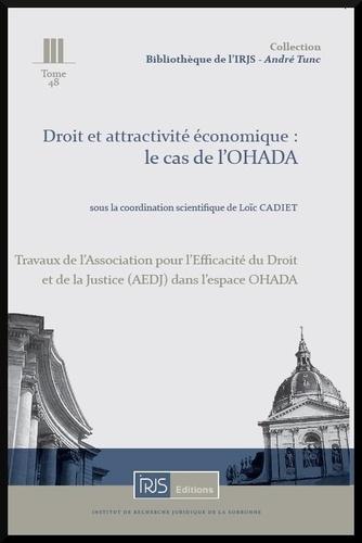 Loïc Cadiet - Droit et attractivité économique : le cas de l'OHADA.