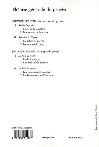 Théorie générale du procès 3e édition