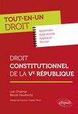 Loïc Chabrier et Benoit Haudrechy - Droit constitutionnel de la Ve République.