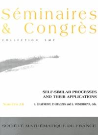 Loïc Chaumont et Piotr Graczyk - Self-similar processes and their applications.