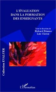 Loïc Clavier - Evaluation dans la formation des enseignants.