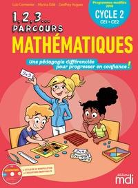 Loïc Cormenier et Marina Dillé - Mathématiques CE1-CE2 Cycle 2 1, 2, 3 parcours. 1 Cédérom
